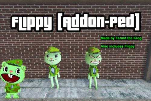Flippy from Happy Tree Friends [Add-On Ped]