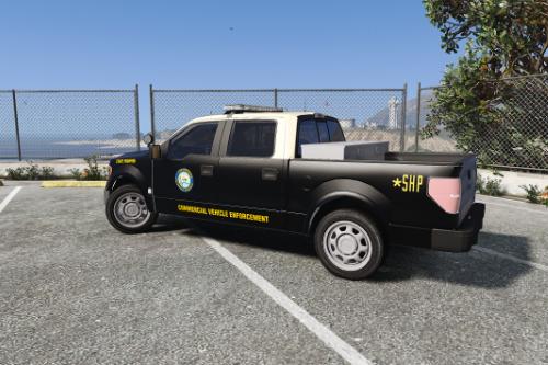 Florida Highway Patrol Commercial Vehicle Enforcement F-150