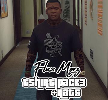 Flux Morz T Shirt Pack 3 and Hats for Franklin