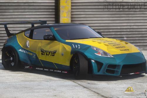 Nissan 370z Fly1 Motorsports Niko Edition Widebody [Add-On / FiveM | Tuning]
