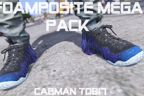 Foamposite One Mega Pack