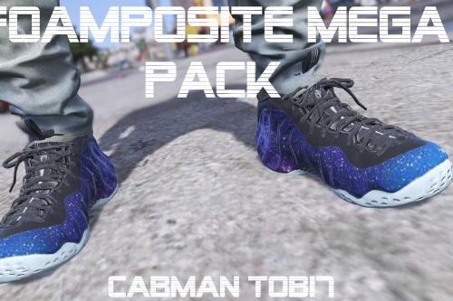 Foamposite One Mega Pack