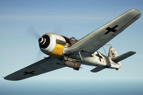 Focke-Wulf FW190 A-8 Würger [Add-On | Tuning]