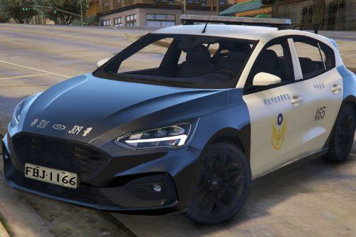 台灣警車(福特Focus ST '19) Taiwan Police Car(Ford Focus ST '19)|(Only Replace)