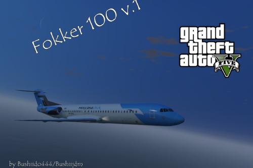 Fokker 100 v2 [Add-on] [Remplace]