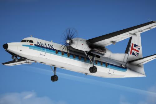 Fokker 27 [Add-On | Liveries]