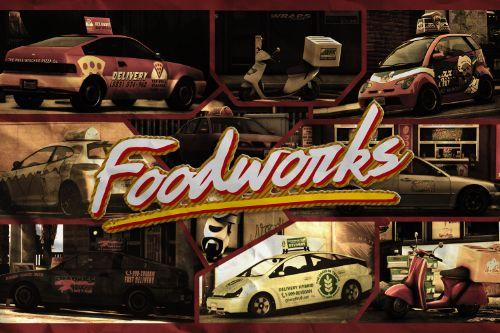 Foodworks: Food Delivery Pack [Add-On]