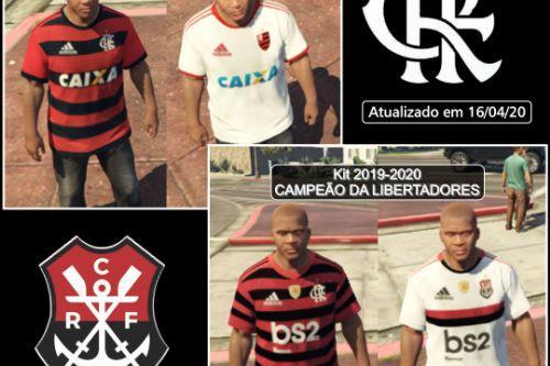 T-Shirts Soccer C. R. Flamengo Adidas kit (2018-2019) (2019-2020)