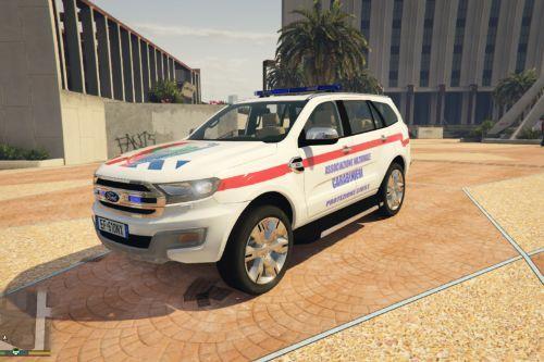 Ford Associazione Carabinieri Paintjob
