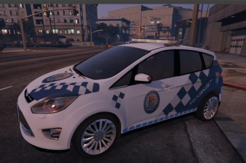 Ford C-MAX Policia Local de Marín Galicia y Cruz Roja Española.