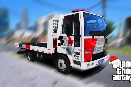 Ford Cargo 815 Reboque PMESP [Add-On / Replace] [ELS] [FiveM]