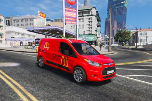 Ford Connect McDonald's Paintjob