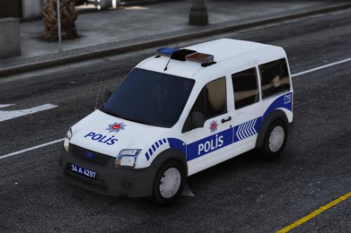 Ford Connect Tourneo Polis Asayis Turkish