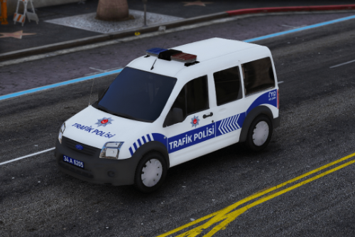 Ford Connect Tourneo Trafik Polisi Turkish