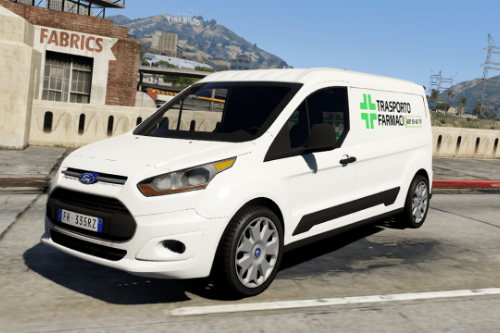 Ford Connect - Trasporto Farmaci (Paintjob | FiveM)