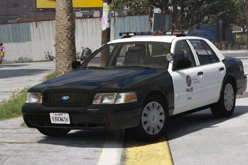 2006 Crown Victoria LAPD [Replace | ELS] (Southland & The Rookie based)