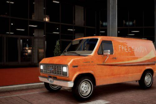 1982 Ford E-150 Van [Add-On | LODs | Template]