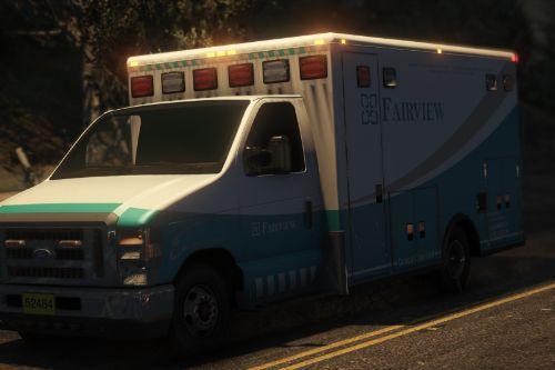 Ford E450 Ambulance Skin Pack