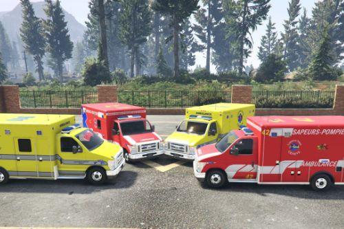Ford E450 Ambulances - Swiss GE