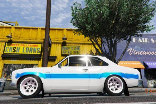 Ford Escort RS1600 MK1 (Fast & Furious 6) [Add-On | Template]