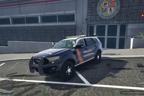 Ford Everest CNP/Policia Nacional of Spain/España