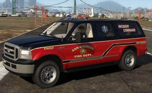 Ford Excursion Fire/EMS/Chief Hybrid ELS/NON-ELS