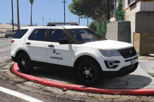 Ford Explorer - Supervisor - Los Santos County Metropolitan Transportation Authority :: Los Santos Transit