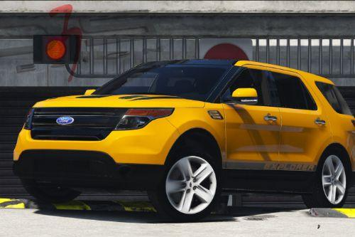 Ford Explorer (U502) 2013 [Add-On / Replace | AO | Template]