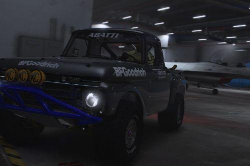Ford F-100 Flareside Abatti Racing Trophy Truck [Add-On | Livery | Animated]