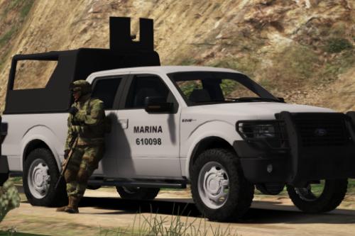 Ford F-150 2009 SEMAR (Secretaria De Marina De Mexico) [Replace l Add-On]