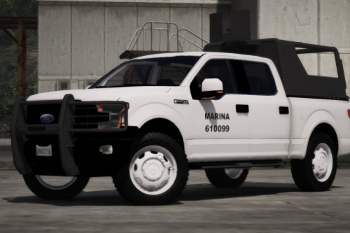 Ford F-150 2015 Semar (Secretaria De Marina De Mexico) [Replace l Add-On]