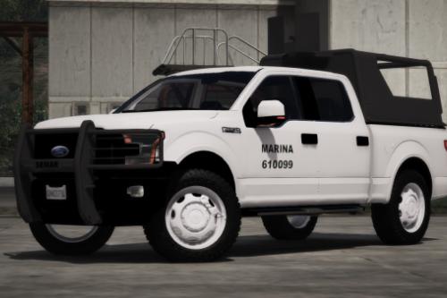 Ford F-150 2015 Semar (Secretaria De Marina De Mexico) [Replace l Add-On]
