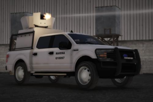 Ford F-150 2018 SEMAR Armored (Secretaria De Marina De Mexico)