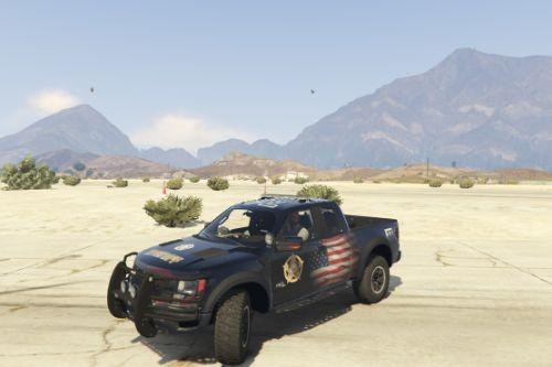 Ford F150 Raptor Sheriff Country USA