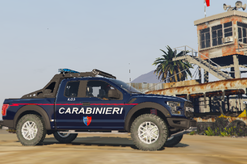 """Ford F150 Raptor """"Squadrone Carabinieri Cacciatori"""""""