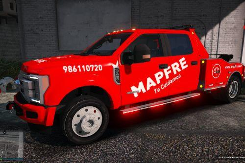 Ford F450 Superduty Pack de Grúas Mapfre Spain/España[FiveM-Replace-ADD-ON-ELS-NON-ELS]