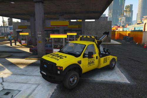German ADAC - Ford F-550 Towtruck [ELS]