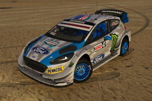 Ford Fiesta ST WRC (Hoonigan) '17 [ADD-ON | LODs | Template | Liveries | AO mapping]