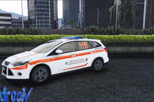 Ford Focus 2014 - Automedica Regione Lazio [Skin]