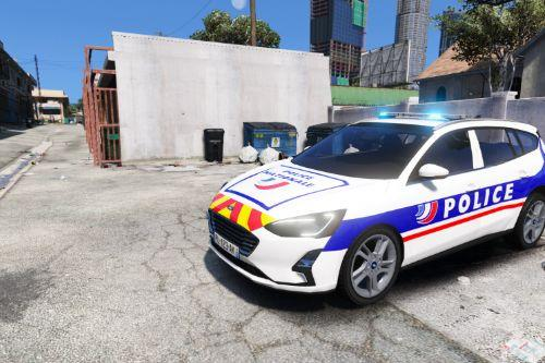 Ford Focus 2019 French police - Police Nationale
