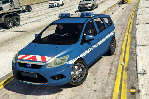 Ford Focus Estate 2009 Gendarmerie