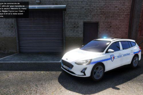 Ford Focus Police municipale - French police