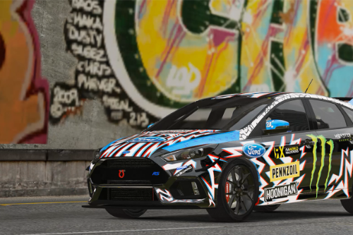 Ford Focus RS 2017【Monster Carnival】