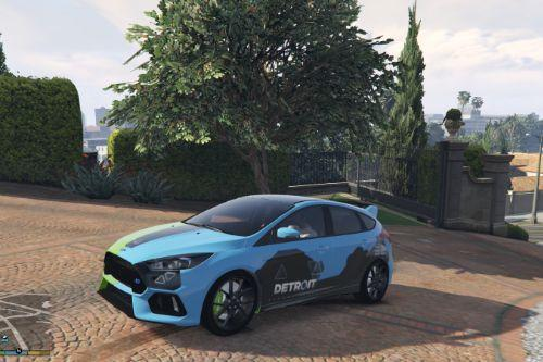 Ford Focus RS - Detroit: Become Human fanmade livery / Quantic Dream