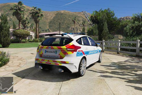 Ford focus RS French police municipale