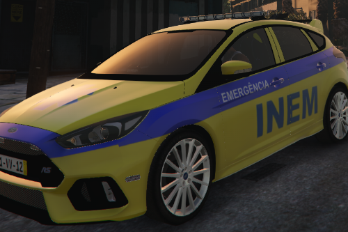 Ford Focus RS INEM PORTUGAL