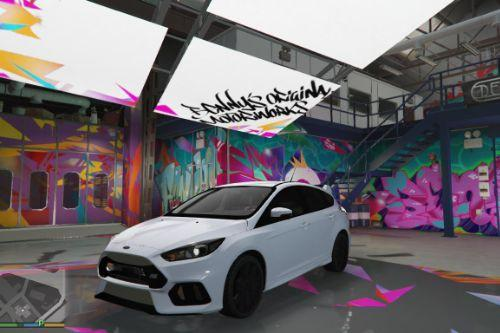ford focus rs [Add-on/Replace]