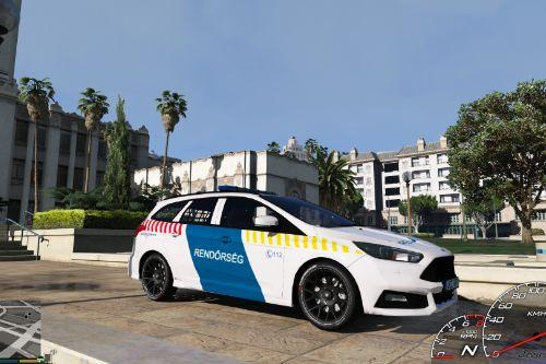 Ford Focus ST Hungarian Police Car