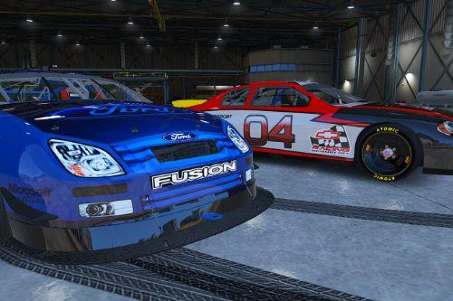 Ford Fusion Stock Car 2011 [Replace | Animated]