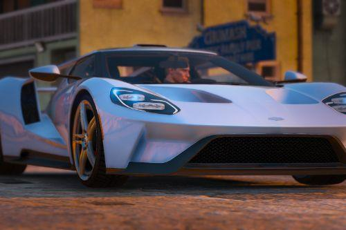 Ford GT 2017 [Automatic Spoiler | Tuning | Add-on]